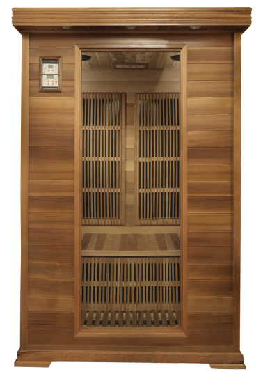 Review of infrared sauna far infrared saunas for Cost to build a sauna